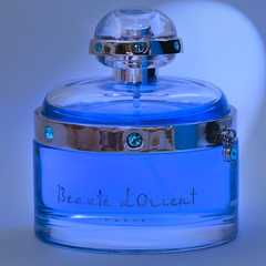Eau De Parfum (arbyreed) Tags: arbyreed smileonsaturday perfume blue close closeup liquid eaudeparfum