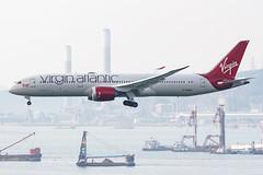 Virgin Altantic B787-9 DREAMLINER G-VWHO 001 (A.S. Kevin N.V.M.M. Chung) Tags: aviation aircraft aeroplane airport airlines plane spotting hkg landing approach boeing b787 dreamliner b7879