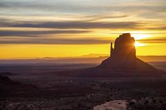 Right mitten sunrise (IanMackie) Tags: monumentvalley utah arizona usa navajo sky daybreak geology
