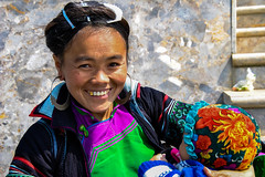 Hmong Woman (Valdas Photo Trip) Tags: vietnam sapa people traditional ethnic