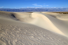 Mesquite Flat Sand Dunes (BDFri2012) Tags: mesquiteflatsanddunes sanddunes sand shadows bluesky deathvalleynationalpark deathvalley nationalpark california desert desertsouthwest americansouthwest landscape mountains view vista