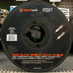 blackweb (Timothy Valentine) Tags: 0319 large cable madeinchina 2019 squaredcircle shopping abington massachusetts unitedstatesofamerica us