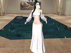 Entrance no.382 (Curiosse) Tags: secondlife dress sleeves white 2019 luxeparis