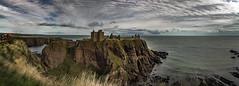 Dunnotar Castle 2 3p (Bilderschreiber) Tags: dunnotar castle burg festung schottland scotland uk coast küste panorama wolken meer sea clouds