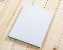 Blank book cover mockup template with page front side on white surface on wood table (nithiyabhaskar) Tags: reader binder studying literature pocket form content document perspective advertise copybook view media day business sample portfolio presentation show printing restaurant supplies notebook report top diary mock stationery world up writing design textbook fill press school journal script education publishing menu back sheet board message office paperback book reading mockup cover template blank white background catalog magazine hardcover a4 booklet paper close thailand