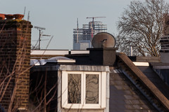 22 Bishopsgate (Gary Kinsman) Tags: london kentishtown canon5dmkii canoneos5dmarkii nw5 northlondon tower highrise skyscraper 22bishopsgate cityoflondon construction canon70300mm telephoto zoom compression cranes