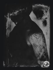seven (LA CAGE AUX FAUVES) Tags: vintage nb ambrotype ferrotype collodion nadar daguerre legray portrait tattoo