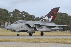 (scobie56) Tags: panavia tornado gr4 za492 617 squadron dambusters raf royal air force lossiemouth moray scotland