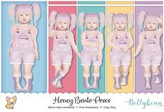 { Bellybean } Honey Bento Poses AD (Bella Parker) Tags: secondlife sl slfamily slblog slpose slbento bento bellybean bentopose pose poses tdposes td tdblogger toddleedoo toddler vendor