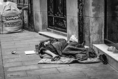 Homelessness (rossendgricasas) Tags: homelessness sensesostre sintecho street streetphotography bn bw people barcelona catalonia