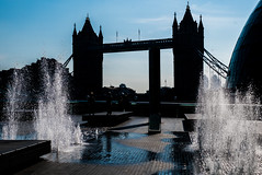 Tower Bridge Silhouette (chabsh123) Tags: london tower bridge fuji xpro2 lightroom