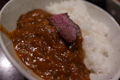 beef curry with ichibo (HAMACHI!) Tags: tokyo 2019 japan food foodporn foodie foodmacro meat beef 肉山 nikuyama kichijoji restaurant diningrestaurant lumix lumixdclx100m2 dclx100m2