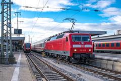 120 132-6 DB Fernverkehr Nuremberg Hbf 31.01.19 (Paul David Smith (Widnes Road)) Tags: 1201326 db fernverkehr nuremberg hbf 310119