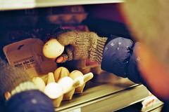 Perfect dozen (auqanaj) Tags: kodakgold200 nikonafsnikkor50mm114g nikonf100 analog bis20190127 cewescanat72dpi film street strase laden geschäft grocery eier ei egg eggs clerks perfect dozen perfectdozen guidancecouncelor shellshock