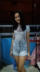 Ashley (ghostgirl_Annver) Tags: asia asian girl teen ashley sister daughter family beautiful roof terrace night