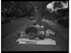 Hard Rubbish iv (@fotodudenz) Tags: fuji fujifilm ga645w ga645wi medium format point and shoot film rangefinder 28mm 45mm 2019 120 mont albert melbourne victoria australia ilford hp5 plus hard rubbish collection