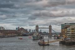 Tower Bridge (Hattifnattar) Tags: london towerbridge pentax clouds cityscape fa43mm limited