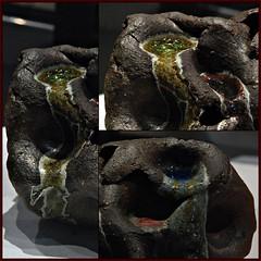 5 - Beaux-Arts de Paris - Chapelle des Petits-Augustins - Exposition Formes limites - Ryo Mikami, Objet, Grès et verre, 2018 - Détails (melina1965) Tags: nikon d80 février february îledefrance paris 6èmearrondissement 75006 céramique ceramic sculpture sculptures 2019 mosaïque mosaïques mosaic mosaics collages collage macro macros