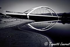 Le pont du Liamone (Corse) (tognio62) Tags: pont reflexion reflection reflets rivière rives river plage corse corsica ciel sable