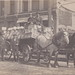 NW Traverse MI RPPC c.1910 Earl Hodge top left with WAGON LOAD OF PRODUCE Great Front Street & Union Street OR Front & Maple View BRICK STREETS Horse & Wagon & early Automobile Era too