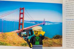 San Francisco, here I come (2017) #TBT (Ballou34) Tags: 2017 7dmark2 7dmarkii 7d2 7dii afol ballou34 canon canon7dmarkii canon7dii eos eos7dmarkii eos7d2 eos7dii flickr lego legographer legography minifigures photography stuckinplastic toy toyphotography toys puteaux îledefrance france fr stuck in plastic san francisco bridge selfie portrait bay area golden gate