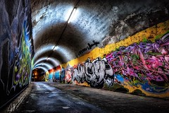 color-into-darkness (Nicky Nikon / steffographie) Tags: graffity mannheim germany streetart street fujifilm longtimeexposure longexposure abstract night dark kunst art graffiti