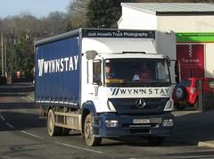 Wynnstay HY12 SYC at Llanfair Caereinion (Joshhowells27) Tags: lorry truck mercedes mercedesbenz axor mercedesaxor mercedesbenzaxor curtainsider hy12syc mick llansantffried