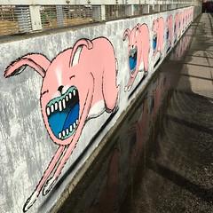 Tivolibrug Leuven - March 2019 (Kristel Van Loock) Tags: tivoli tivolibrug tivolibridge leuven fietsersbrug bisser graffitiart graffiti graffitikunst artproject fietsbrug louvain lovanio lovaina löwen atleuven visitleuven leveninleuven drieduizend seemyleuven urbanart muralart streetart streetartleuven leuvencity leuvenlove leuveninbeeld vlaanderen vlaamsbrabant visitflemishbrabant visitflanders visitbelgium tivolibrugleuven missietivoli