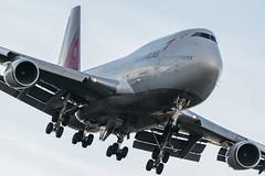 Asiana Boeing 747-400 (piotrkalba) Tags: boeing 747 747400 queen asiana airlines london heathrow spotting plane nikon d5300
