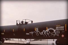 (timetomakethepasta) Tags: jello freight train graffiti art tanker