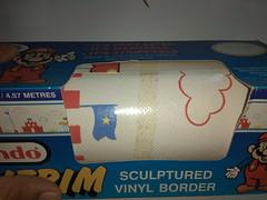 North American Decorative Products Super Mario Bros Nintendo Wall Trim 28 (gamescanner) Tags: north american decorative products super mario bros nintendo wall trim covering walltrim decor sculpted vinyl border upc 058559709011 058559709035 rosewall inc 1989 sku 70902