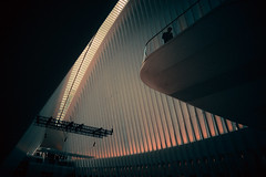 "23,984 ""Solo II"" (Panda1339) Tags: 28mm usa scifi worldtradecenter cinematic nyc newyorkcity newyork solo lonefigure streetphotography oculus"