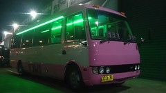 24 Seater Pink Party Bus