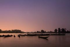 Si Phan Don (4000 islands), Laos (pas le matin) Tags: travel voyage world asia asie southeastasia boats bateaux sunset coucherdesoleil tree arbre sky ciel siphandon 4000islands 4000îles laos lao mekong water fleuve river rivière canon 7d canon7d canoneos7d eos7d