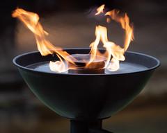 _1008582 (Stephen.Bingham) Tags: bath romanbaths torch dcg9 ccbysa creativecommons attributionsharealike flame
