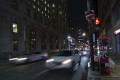 Stop! (A Great Capture) Tags: night darkness nocturnal dark illuminate lighting streetphotography streetscape photography streetphoto street calle outdoor outdoors outside cityscape urbanscape eos digital dslr lens canon 70d agreatcapture agc wwwagreatcapturecom adjm ash2276 ashleylduffus ald mobilejay jamesmitchell toronto on ontario canada canadian photographer northamerica torontoexplore efs1018mm 10mm wideangle city downtown lights urban nighttime spring springtime printemps 2019 cars traffic longexposure hand sign