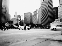 PA050070 (mark luccarelli) Tags: chicago digitalbw downtown wackerdrive balanced composition