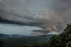 Shelf Cloud From 3000 ft (cs_hammer) Tags: lightning parkway storm
