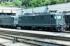 SBB 11364 (bobbyblack51) Tags: sbb class re44 slm bbcmfosaas bobo electric locomotive 11364 bellinzona depot 1994