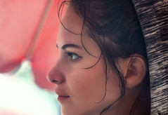 Profil Sarah (Pi-F) Tags: profil femme girl fille pluie
