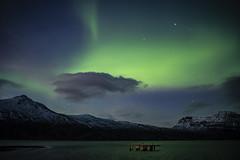 and one more... (lawatt) Tags: northernlights aurora sky night djúpavík árneshreppur westfjords iceland sonya7 pentaxlens 35mm