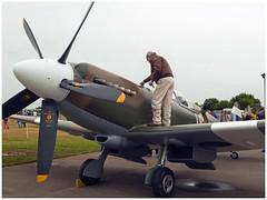 Supermarine Spitfire PR.XIX (F-AZJS) (Aerofossile2012) Tags: supermarine spitfire prxix fazjs avion aircraft aviation meeting airshow laferté 2017 people warbird