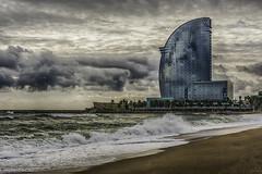 playas (Cano TCA Photography YOU ARE THE LIGHT) Tags: hotel vela playas de barcelona hotelvela word city beach hdr