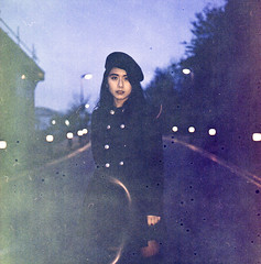 Kat on Expired Film 2018 (Sly Panda) Tags: sly panda c41 process expired film 120 portra 160 pushed iso1600 colour camera rolleiflex