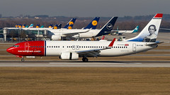 Boeing 737-8JP(WL) EI-FVN Norwegian Air International (William Musculus) Tags: plane spotting airport airplane william musculus aviation eifvn norwegian air international boeing 7378jpwl muc munchen munich eddm 737800 dy nax d8 ibk