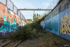 Charleroi (Jan Dreesen) Tags: hainaut henegouwen belgië belgique srwt tec charleroi tram mlc metro fantôme spookmetro abandoned ghost subway line station centenaire