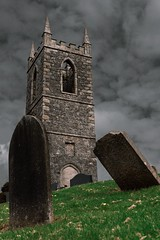 (shayetc) Tags: sigmalenses photography sony codown tullylish ireland northernireland sky clouds religion life death headstone cemetery graveyard grave church