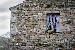 SJ1_3754- Swaledale Barn (SWJuk) Tags: swjuk uk unitedkingdom gb britain england yorkshire northyorkshire yorkshiredales dales swaledale muker ivelet barn fieldbarn stonebuilt window closeup 2018 nov2018 autumn holidays nikon d7200 nikond7200 nikkor1755mmf28 landscape countryside scenery rawnef lightroomclassiccc
