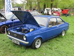 Ford Escort 1300 GL MUD288S (Andrew 2.8i) Tags: classic classics cars car show singleton park swansea 2015 british saloon sedan mark 2 ii mk mk2 13gl 1300gl 1300 gl 13 escort ford