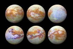 Seeing Titan with infrared eyes (europeanspaceagency) Tags: esa europeanspaceagency space universe cosmos spacescience science spacetechnology tech technology titan saturn cassini hyugens infrared nasa jpl moonofsaturn visualandinfraredmappingspectrometervims spacescienceimageoftheweek